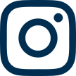 Instagram blue icon